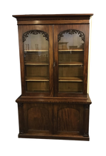 Load image into Gallery viewer, Quality Victorian Mahogany Library Bookcase