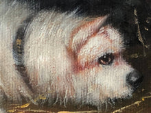 "Load image into Gallery viewer, Fine Oil Painting ""2 Terrier Dogs In Barn Ratting"" After Edward George Armfield"