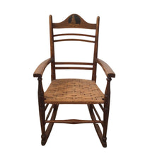 Load image into Gallery viewer, Arts and Crafts Child's Rocking Chair