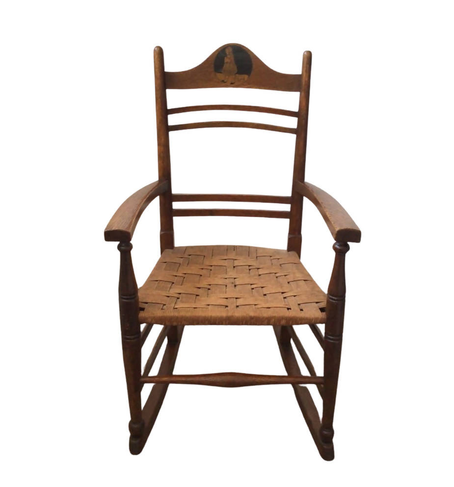 Arts and Crafts Child's Rocking Chair