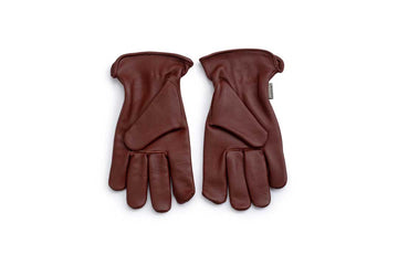 Classic Work Glove Cognac - Med/Lge