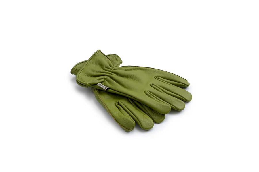 Classic Work Glove Olive - Med/Lge