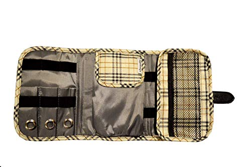 Smartwatch & Electronics Travel Organizer (Beige)