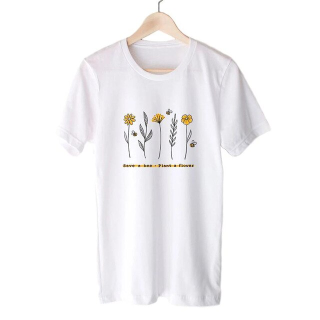 Save A Bee Plant A Flower Tee