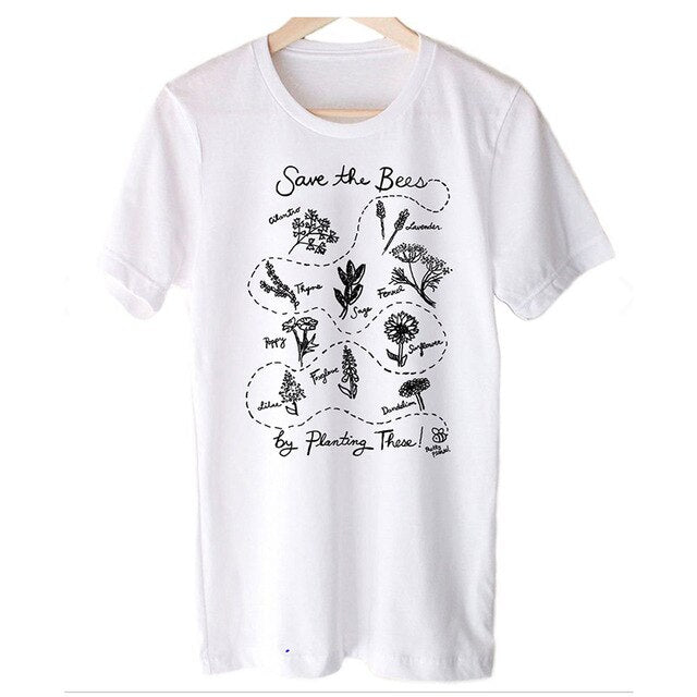 Save The Bees By Planting These Tee