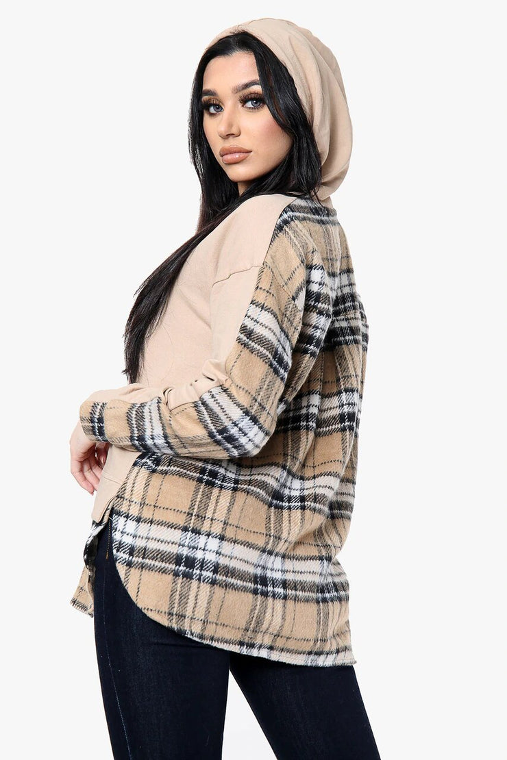 Layered Long Sleeved Hoodie