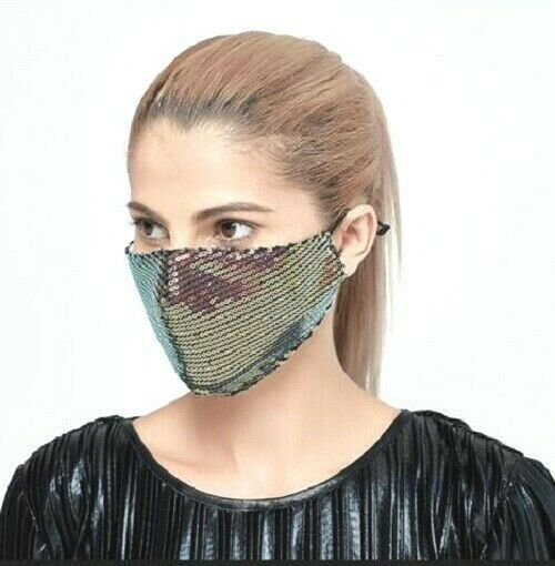 Mulberry Sequence Double Layered Washable Cotton Face Mask