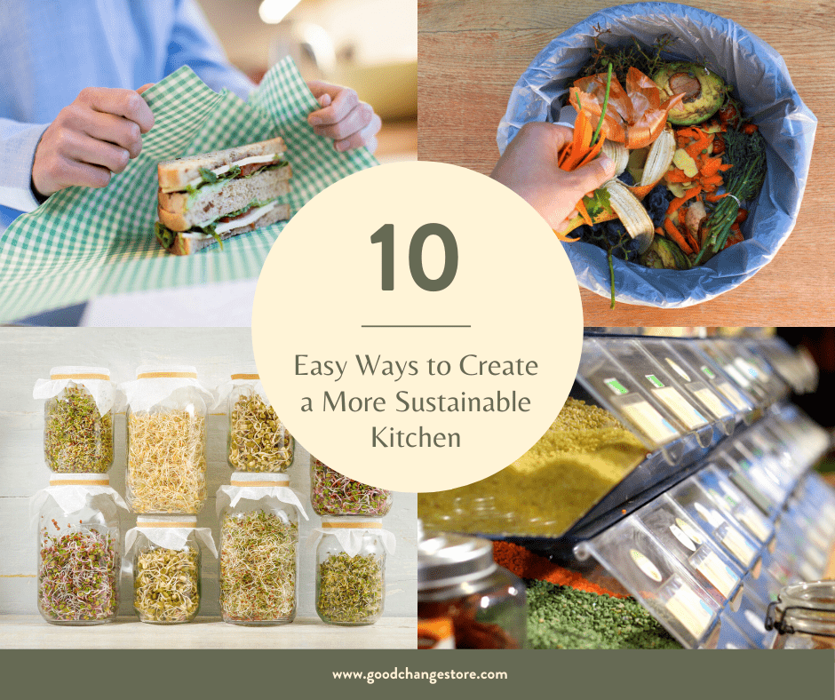 10 Easy Ways to Create a more Sustainable Kitchen
