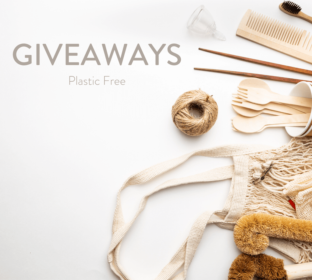 Plastic Free July - GIVEAWAYS