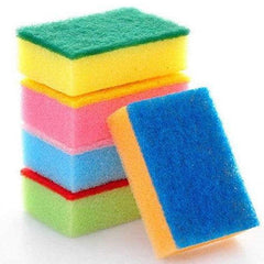 stack of kitchen sponges
