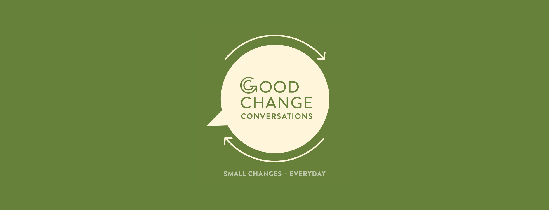 Good Change Conversations podcast about good people doing good things