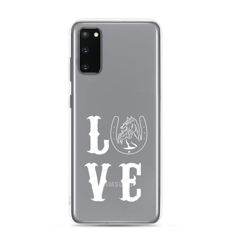 Coque Samsung Love Pegasus square