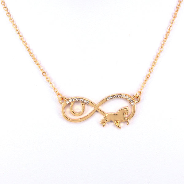 "Collier ""Amour infini du Cheval"""