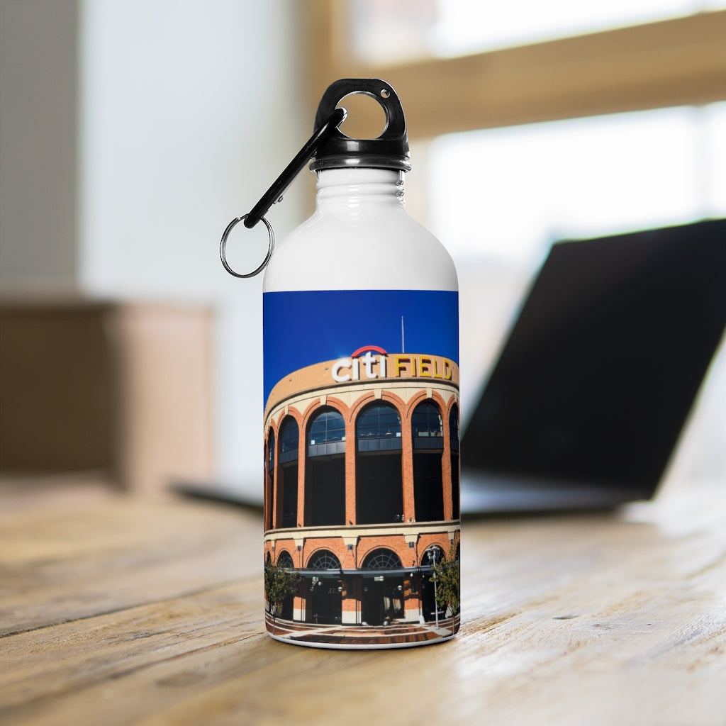 Citi Field Exterior - Stainless Steel Water Bottle