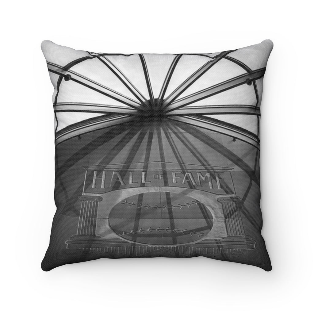 Hall of Fame Skylight - Spun Polyester Square Pillow