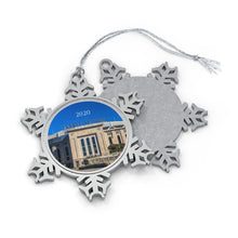 Load image into Gallery viewer, Yankee Stadium - 2020 - Pewter Snowflake Ornament