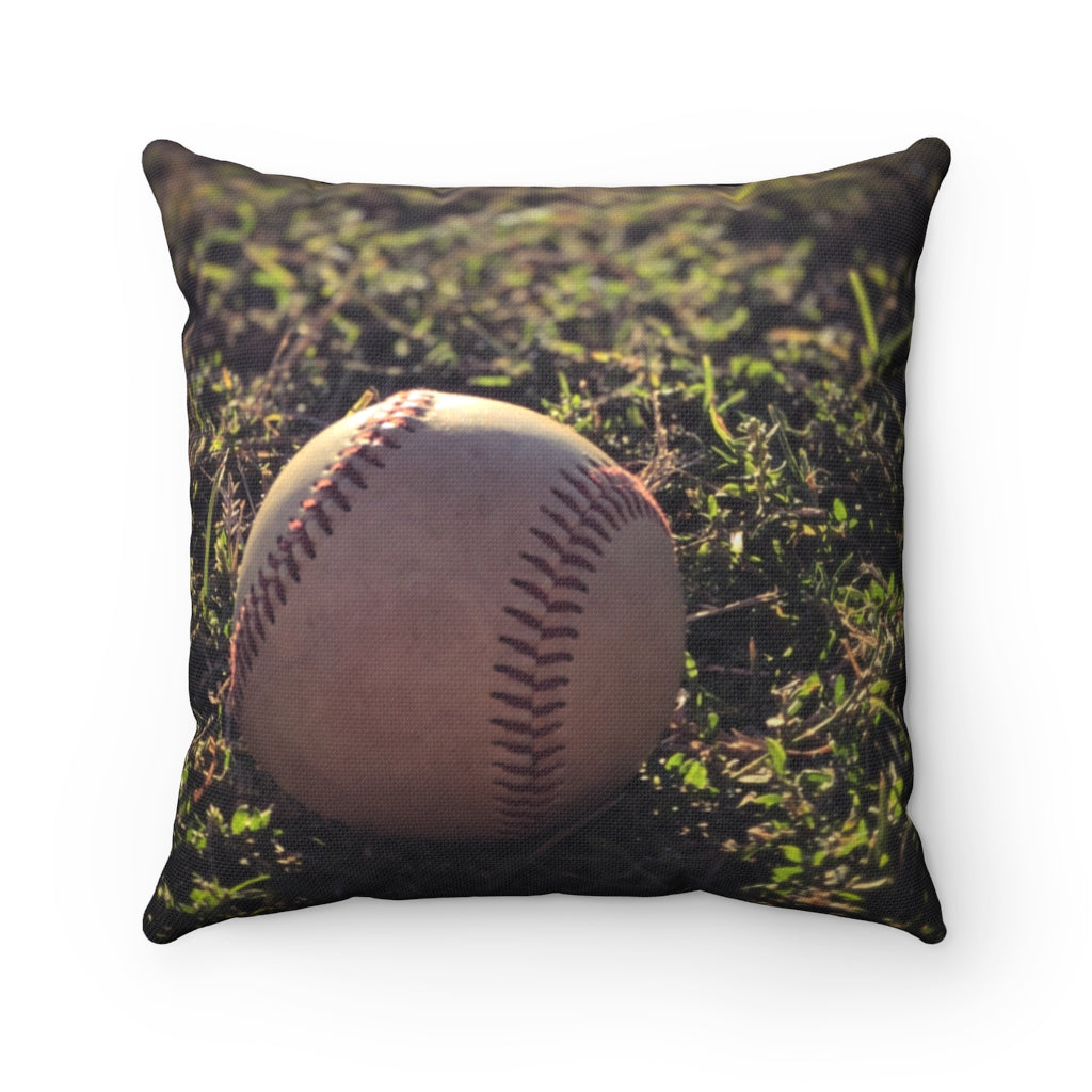 The Best Game in the World - Spun Polyester Square Pillow