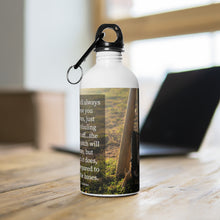 Load image into Gallery viewer, Run The Bases - Stainless Steel Water Bottle