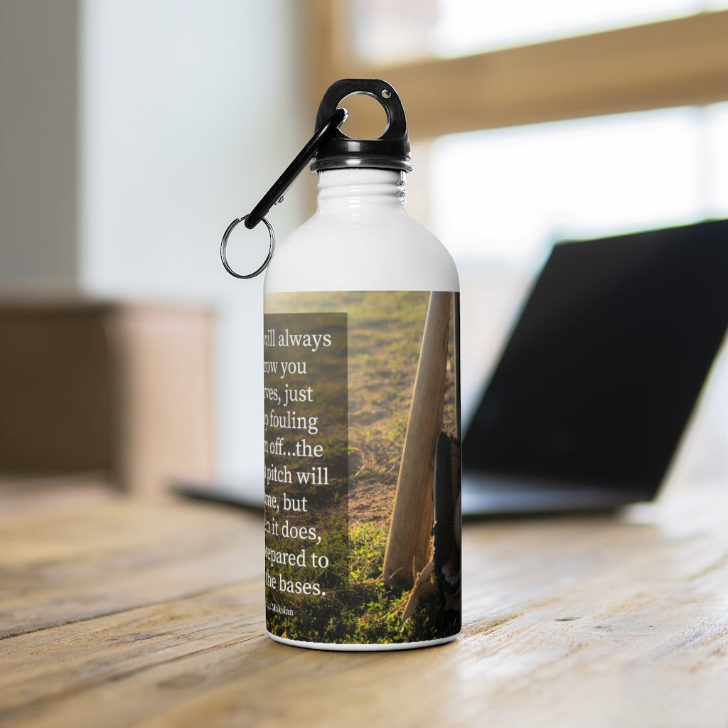 Run The Bases - Stainless Steel Water Bottle