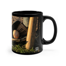 Load image into Gallery viewer, Hank Aaron Quote - Black mug 11oz