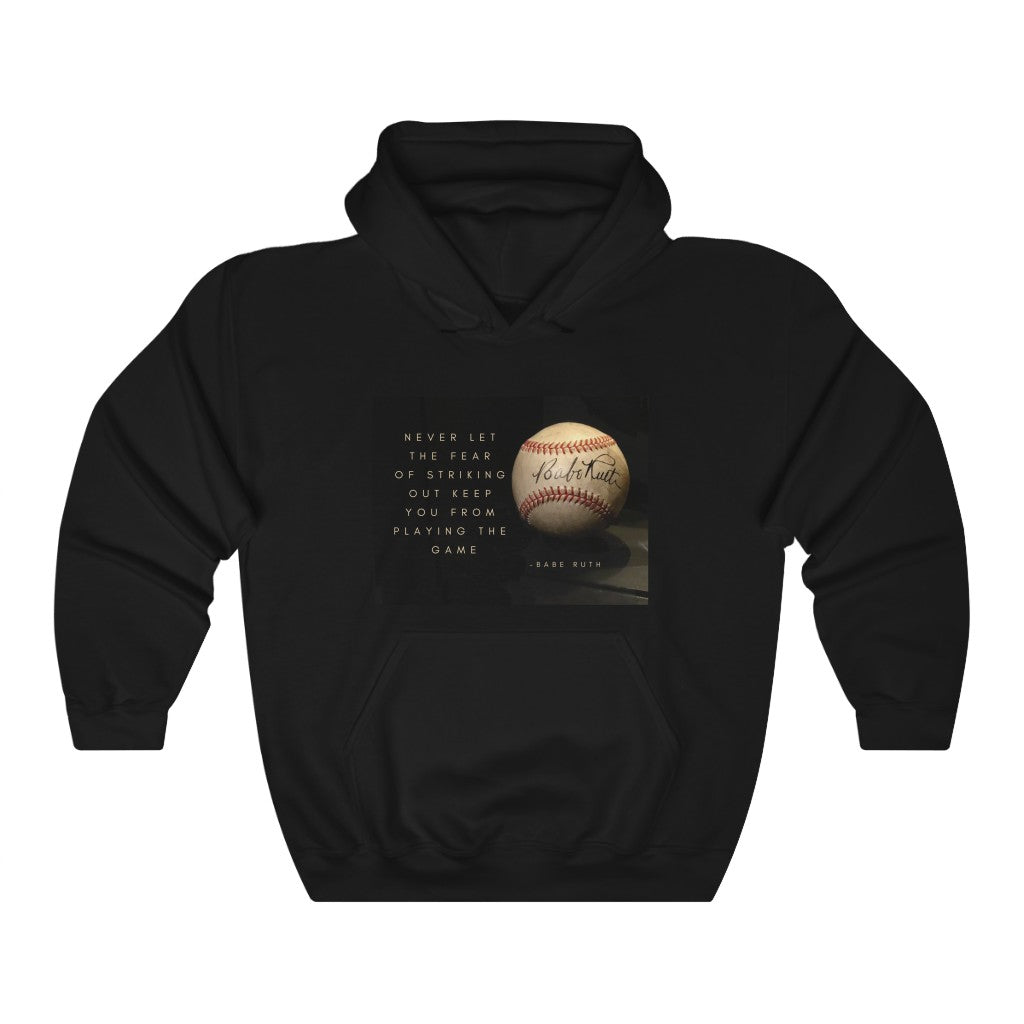 Babe Ruth Quote - Unisex Heavy Blend™ Hooded Sweatshirt