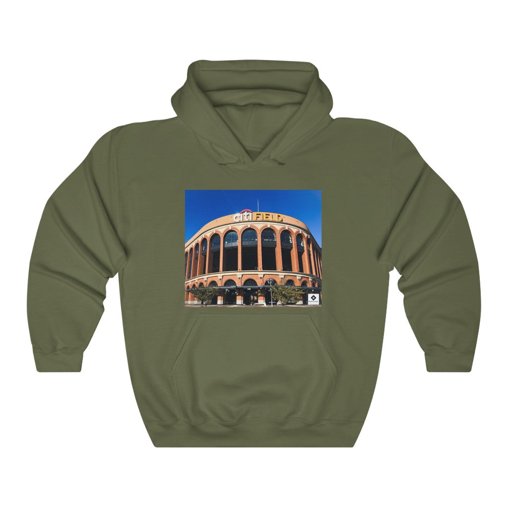 Citi Field & Tom Seaver Quote - Unisex Heavy Blend™ Hooded Sweatshirt
