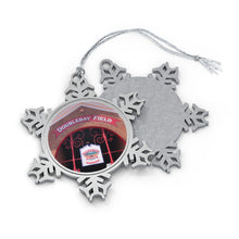 Load image into Gallery viewer, Doubleday Field - Timeless - Pewter Snowflake Ornament