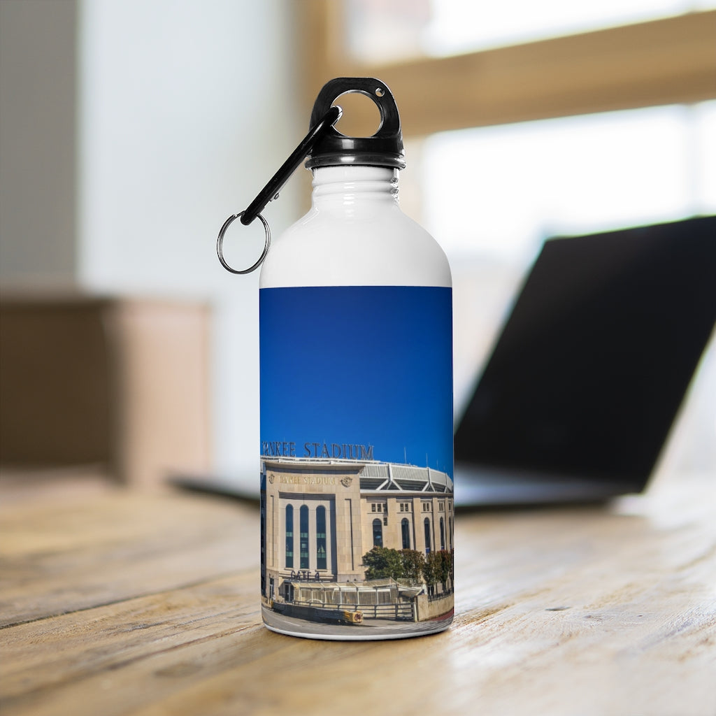 Yankee Stadium Exterior - Stainless Steel Water Bottle