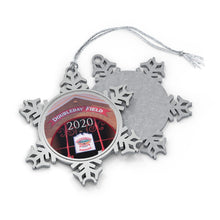 Load image into Gallery viewer, Doubleday Field - 2020 - Pewter Snowflake Ornament