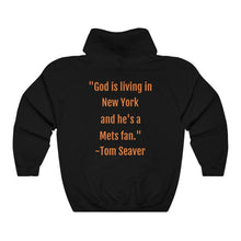 Load image into Gallery viewer, Citi Field & Tom Seaver Quote - Unisex Heavy Blend™ Hooded Sweatshirt