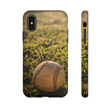 Load image into Gallery viewer, Baseball on Field Tough Cases