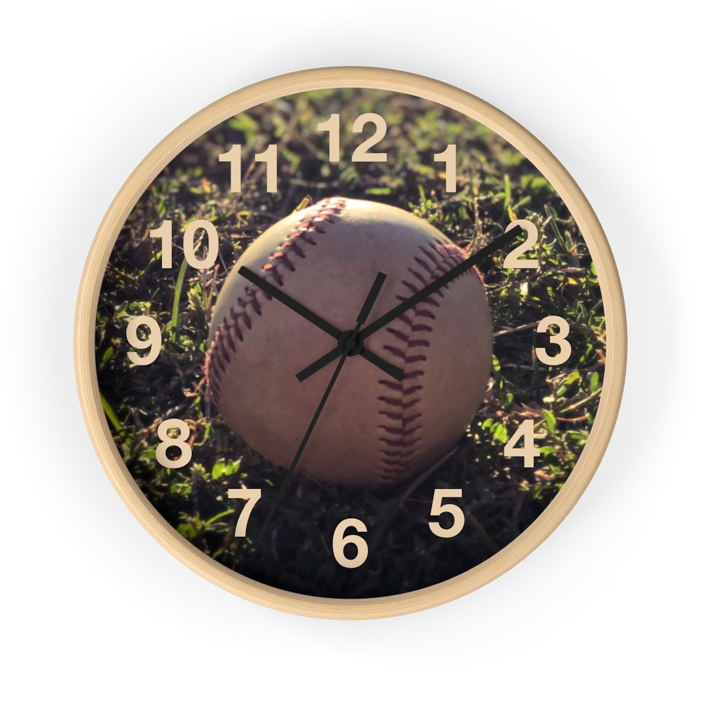 Center Field Wall clock
