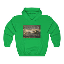 Load image into Gallery viewer, Hank Aaron Keep Swinging - Unisex Heavy Blend™ Hooded Sweatshirt