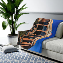 Load image into Gallery viewer, Citi Field Entrance - Velveteen Plush Blanket