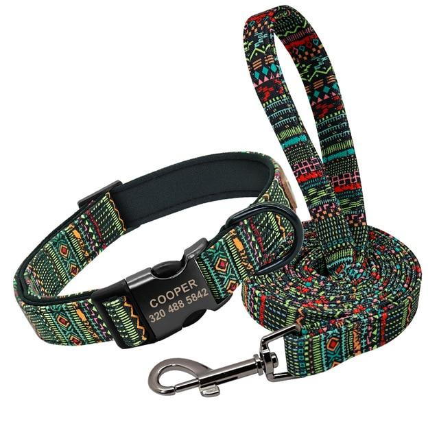 Pet Collars With or Without Leash - Junky Pets