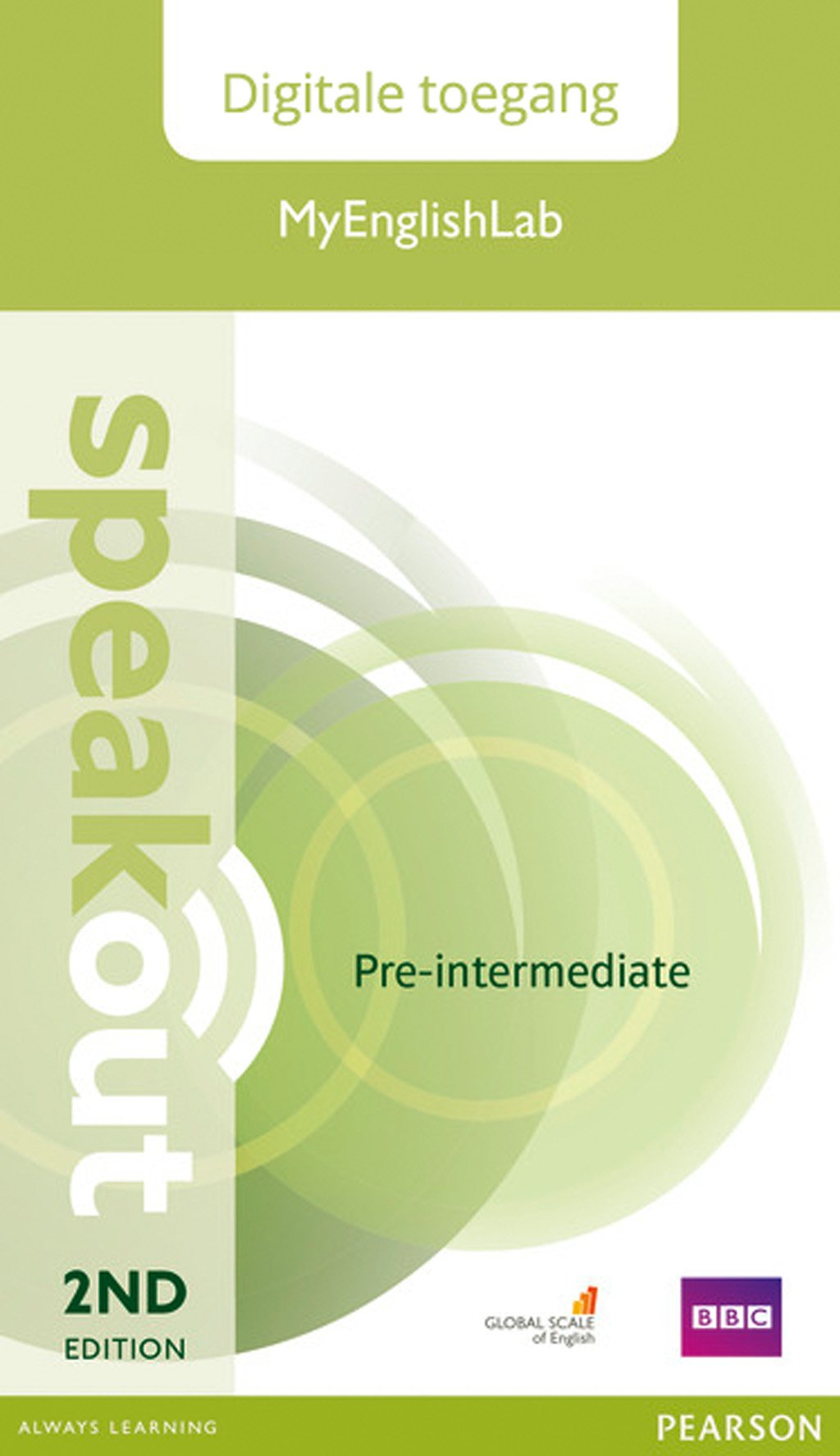 Speakout 2e Pre-intermediate MyEnglishLab