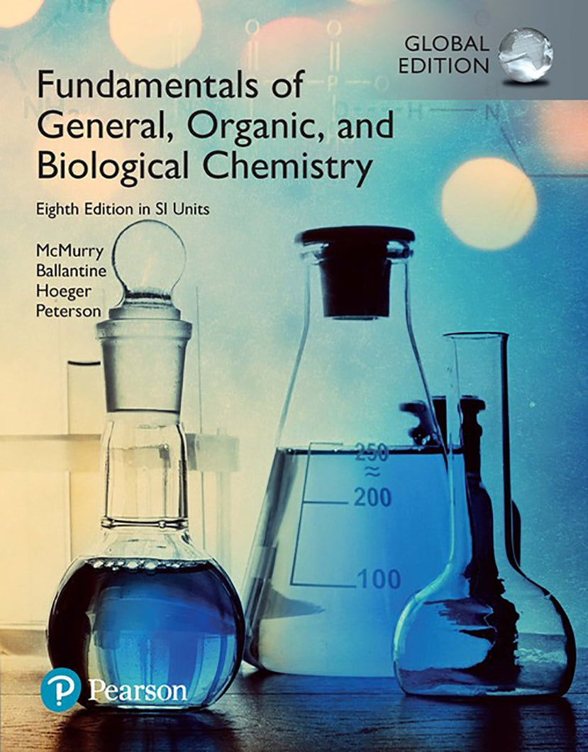 Fundamentals of General, Organic and Biological Chemistry, Global Edition Modified MasteringChemistry