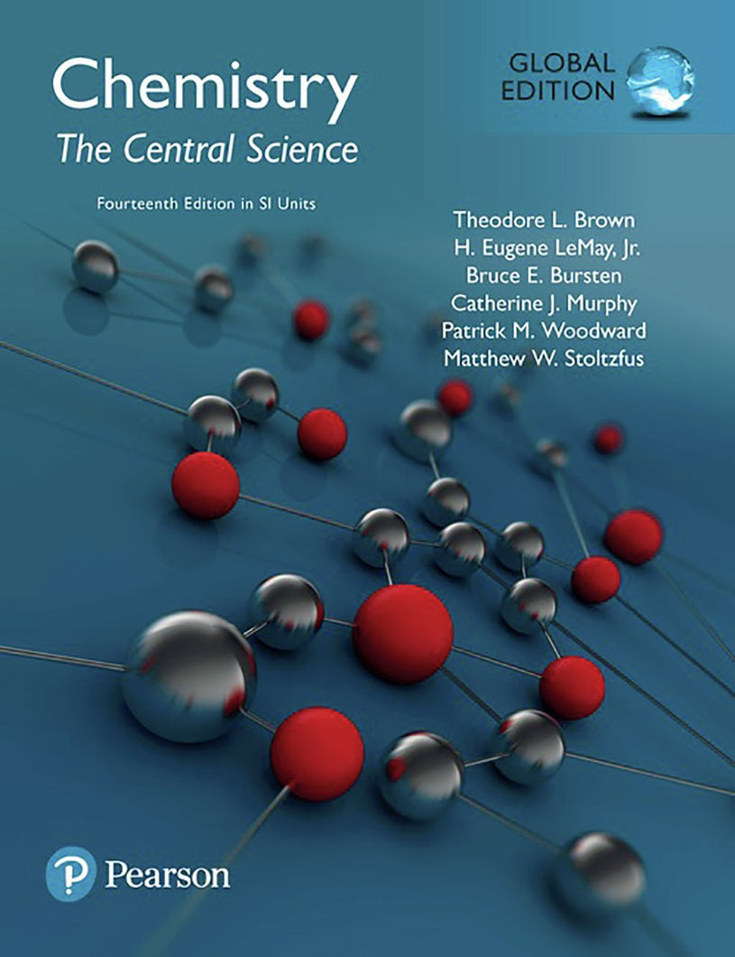 Chemistry: The Central Science in SI Units Mastering Chemistry, 14th Edition