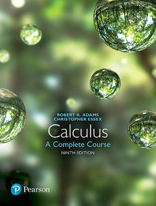 MyLab Math, Adams, Calculus: A Complete Course, 9e edition
