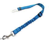 Dog Leash with connection to Seat Belt in Vehicle