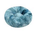 Comfy Faux Fashion Pet Bed that Calms & Soothes - Snuggle Bed