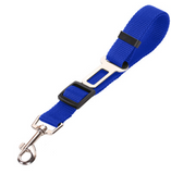 Seat belt leash connecter, Nylon strap for tie down in vehicle for pets of all kinds.