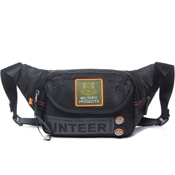 Military Waterproof Oxford Fanny Pack