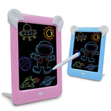 Young child learning and drawing tool in LED.  Easily change colours and frame the artwork.