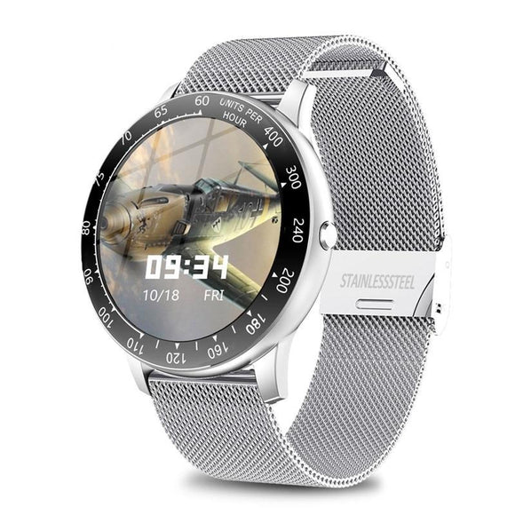 New Full Touch Mens Smart Watch LIGE