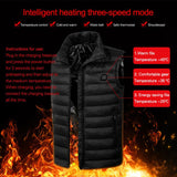 USB Electric Heating Vest for Women and Men