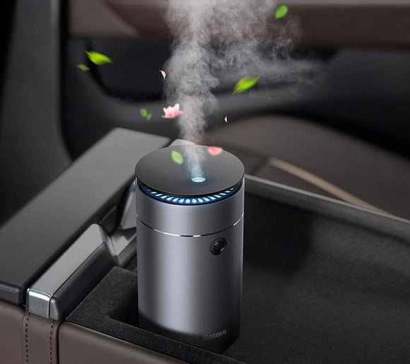 Baseus Air Humidifier Aroma Essential Oil Diffuser and USB Fogger Mist Maker Humidification