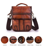 Quality Cowhide Messenger Shoulder Bag