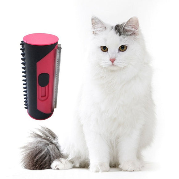 Clean up pet hair with this unique roller