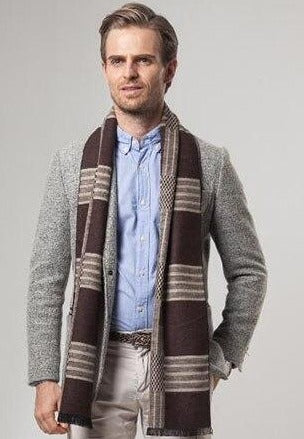 Mens Luxury Cashmere Scarf